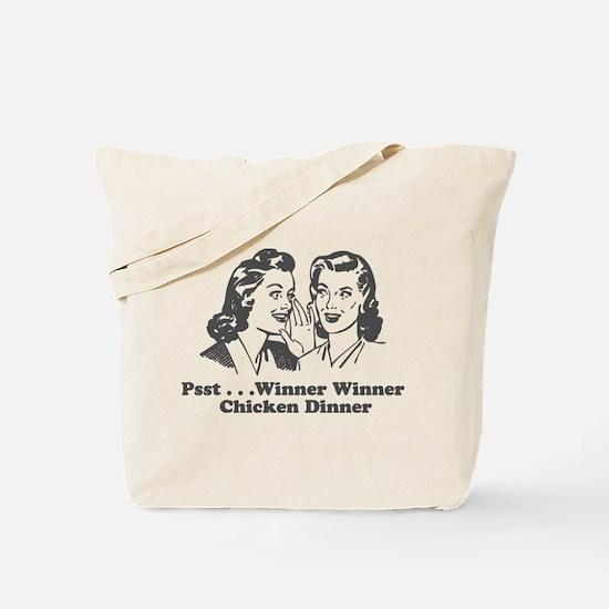 Cute Winner winner chicken dinner Tote Bag