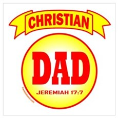 CHRISTIAN DAD Poster