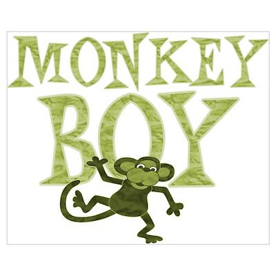 Yellow Monkey Boy Poster