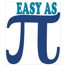 Easy as Pi Poster