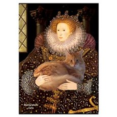 Queen / Red Maine Coon Poster