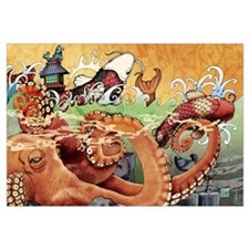 Octopus 11 x 17 Print