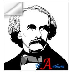 Hawthorne Scarlet Letter Wall Decal