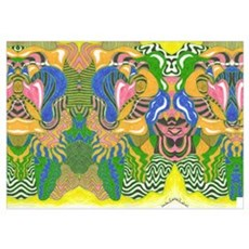 Psychedelic Pserpents Poster