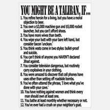 You Might Be A Taliban, If...