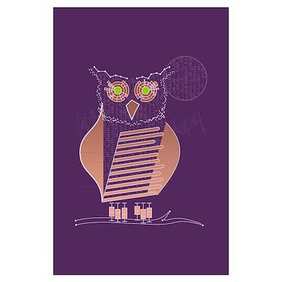 Data Owl Poster