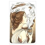 Alphonse mucha Wrapped Canvas Art