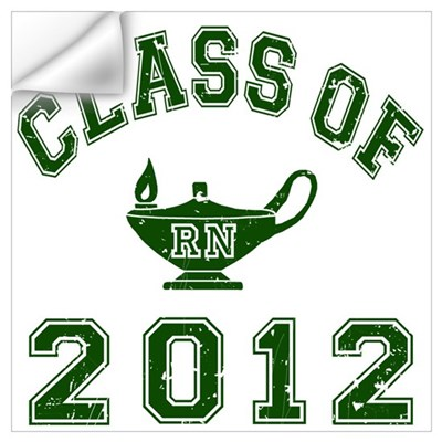 Class Of 2012 RN Wall Decal