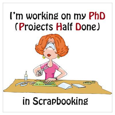 Scrapbooking PhD Poster