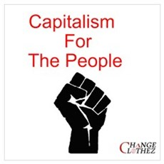 The People's Capitalism Framed Print