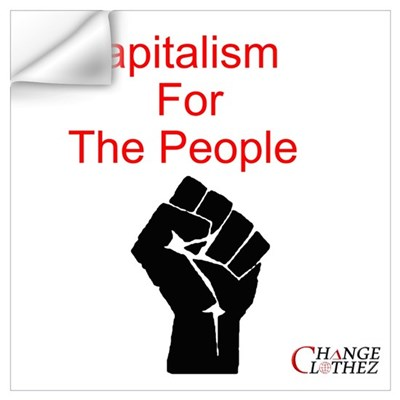 The People's Capitalism Wall Decal
