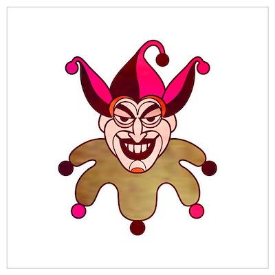 joker card face Poster