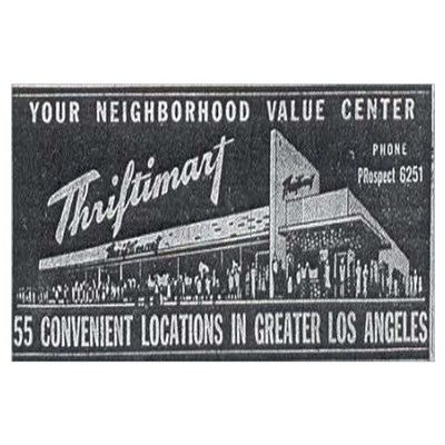 1940s Thriftimart Poster