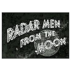 Radar Men Poster