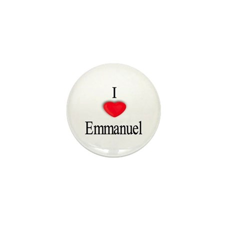 Emmanuel Mini Button