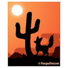 Desert Fennec Fox Poster