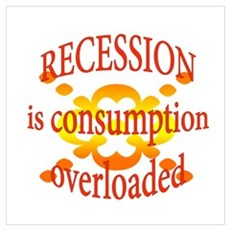 Recession is Canvas Art