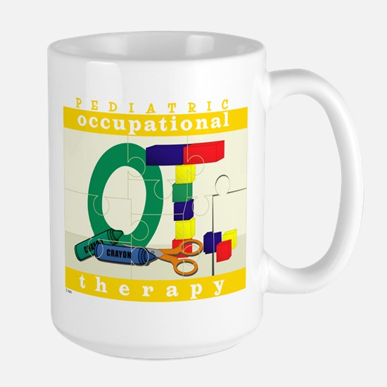 Pediatric Occupational Therapy Large Mug
