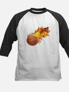 Flaming BasketBall Tee