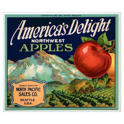 Vintage Fruit & Vegetable Lab Poster