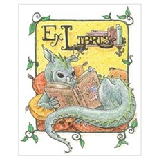 Dragon Reader Canvas Art