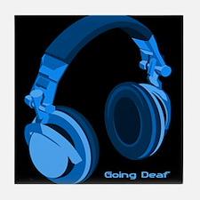 Going Deaf DJ Tile Coaster