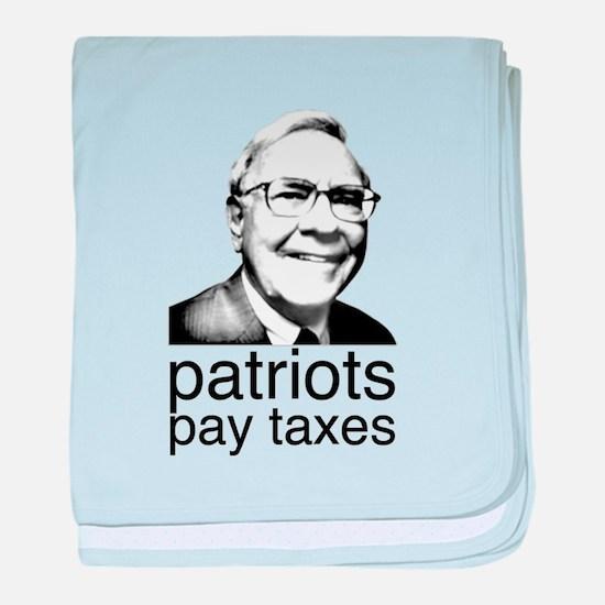 Warren Buffett baby blanket