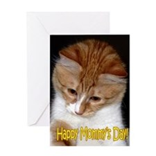 Mother's Day - Mommy's Day Kitten Greeting Card