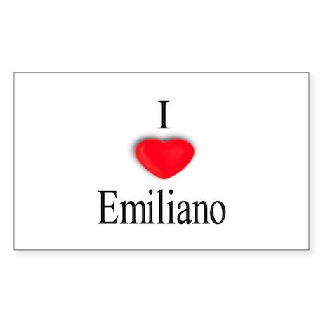 Emiliano Rectangle Sticker
