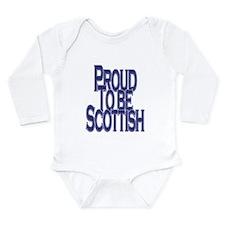 Proud to be Scottish Long Sleeve Infant Bodysuit