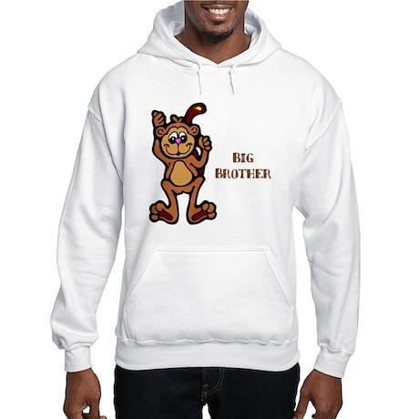Big Brother Monkey Hooded Sweatshirt