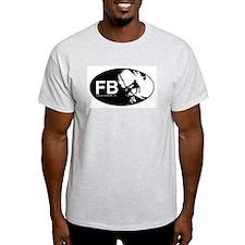 FB Short Boarder Ash Grey T-Shirt