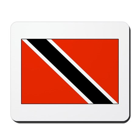 National Flag of Trinidad & Tobago Mousepad