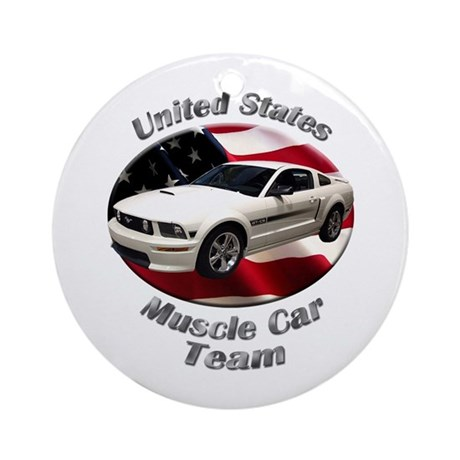 Ford Mustang GT Ornament (Round)