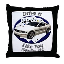 Ford Mustang GT Throw Pillow