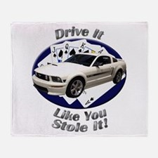 Ford Mustang GT Throw Blanket
