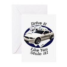 Ford Mustang GT Greeting Cards (Pk of 10)