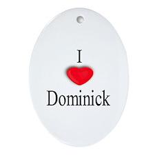 Dominick Oval Ornament