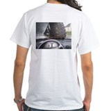 Diesel truck Mens White T-shirts