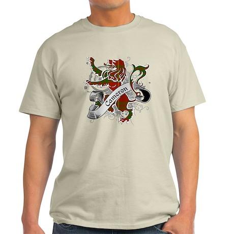Cameron Tartan Lion Light T-Shirt