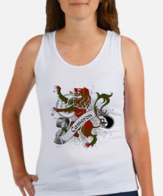 Cameron Tartan Lion Women's Tank Top