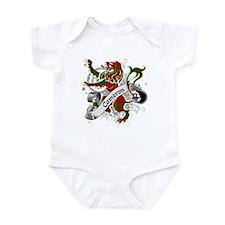 Cameron Tartan Lion Infant Bodysuit