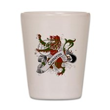 Cameron Tartan Lion Shot Glass