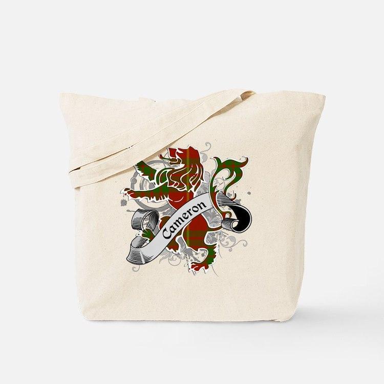 Cameron Tartan Lion Tote Bag