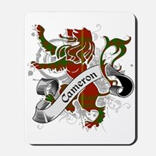 Cameron Tartan Lion Mousepad
