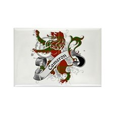 Cameron Tartan Lion Rectangle Magnet