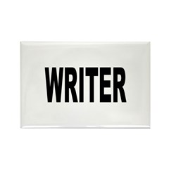 Writer Rectangle Magnet