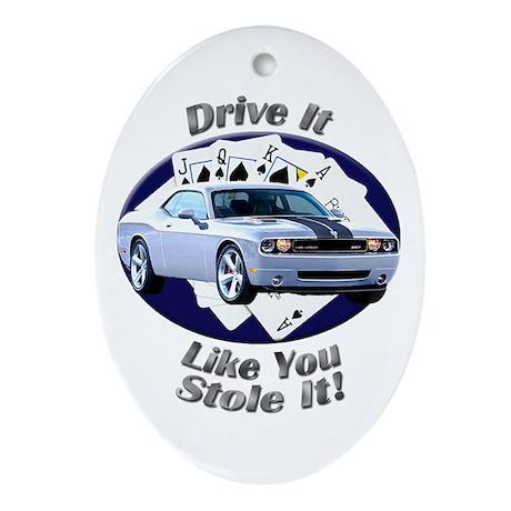 Dodge Challenger SRT8 Ornament (Oval)