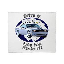 Dodge Challenger SRT8 Throw Blanket
