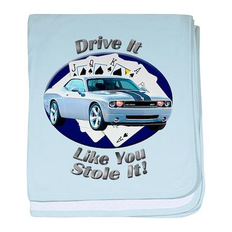 Dodge Challenger SRT8 baby blanket